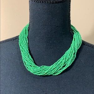 Jewelry - ✨ Green Beaded Necklace ✨
